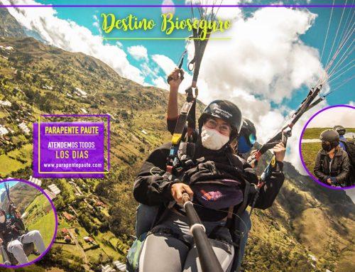 volvemos a volar Parapente en Paute – Ecuador| destino Bioseguro